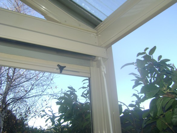 Clear Blind with Winder - Outdoor Impressions