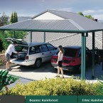 rainforest dutch gable carport