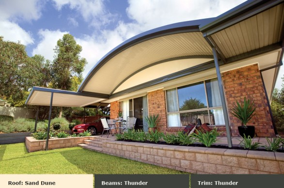 Thunder Clearspan Curved Sunroof - Outdoor Impressions