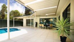 Outdoor verandah living area